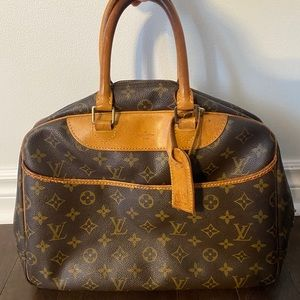 Louis Vuitton Vintage Deauville Boston Handbag